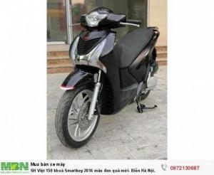 SH Việt 150 khoá Smartkey 2016 màu đen quá mới- Biển Hà Nội.
