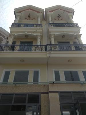 Bán nhà sổ hồng riêng đường TX25, phường Thạnh Xuân, Q12 đúc một trệt, một lửng, hai lầu