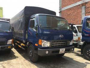 Xe tải New Mighty 2017 thùng bạt tải trọng 8 tấn, thùng dài 5m