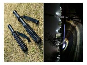 Đèn pin siêu sáng Police (Đen)