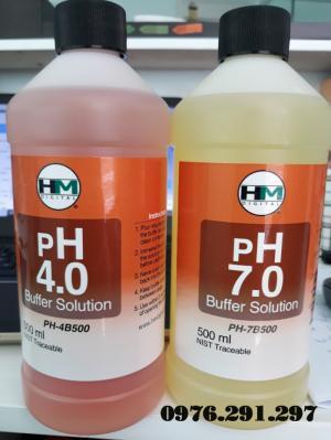 Combo 2 chai dung dịch chuẩn PH7 và PH4