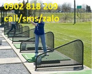 Vách ngăn sân tập golf lưới sắt