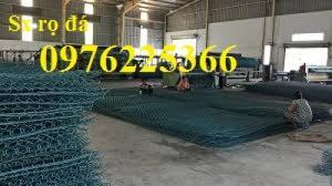 Chuyên sản xuất rọ đá mạ kẽm, rọ đá bọc nhựa tại Hà Nội