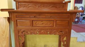 Bàn thờ nhị cấp với thiết kế tiện lợi hàng có sẵn tại Tiền Giang