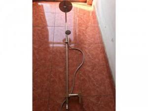 Vòi sen cây tròn nóng lạnh inox 304 xi bóng