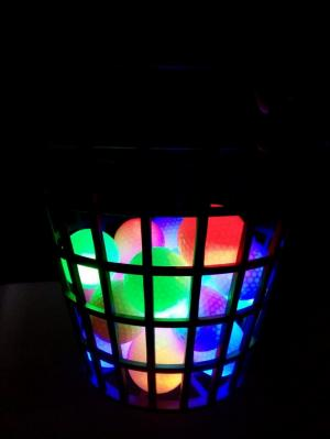Bóng golf có đèn led phát sáng