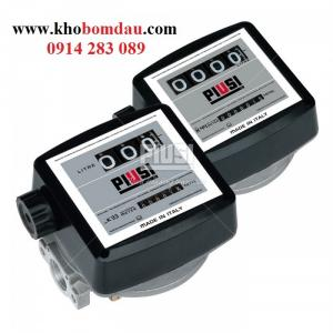 Đồng hồ đo dầu Piusi K33,Đồng hồ đo lưu lượng dầu hiển thị cơ K33,đồng hồ dầu Piusi K33