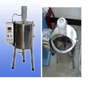 Nồi gia nhiệt mỹ phẩm 15 lít, nồi nấu kem mỹ phẩm, nồi khuấy trộn kem mỹ phẩm có gia nhiệt