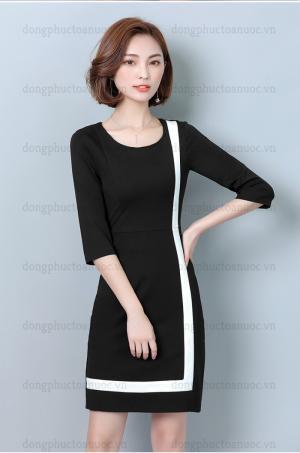Công ty may đồng phục váy liền đẹp - Miễn phí thiết kế 100%