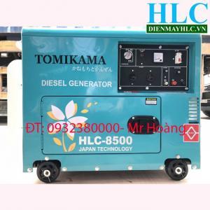 Chuyên cung cấp máy phát điện chạy dầu Tomikama HLC 8500