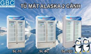 Tủ mát Alaska 2 cánh chính hãng