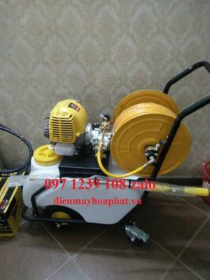 Máy phun thuốc đẩy tay Honda GX35, dây phun 40 mét, áp lực phun lớn, giá thành rẻ