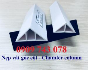 Nẹp Nhựa Vát Góc Cột - Chamfer column