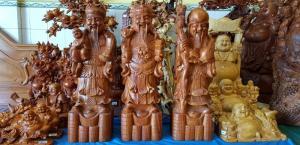 Bộ tượng tam đa Phúc Lộc Thọ may mắn