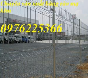 Lưới hàng rào mạ kẽm D4, D5, D6