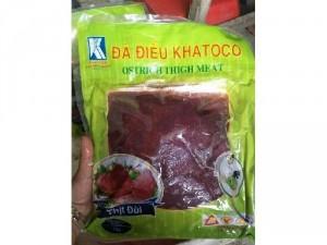 Thịt đà điểu tươi ướp sẵn