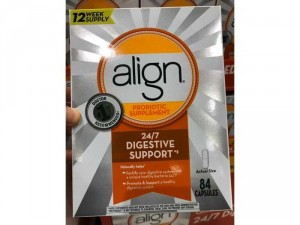 Viên uống hỗ trợ tiêu hóa Align Probiotic Supplement 24/7 Digestive Support 84 viên