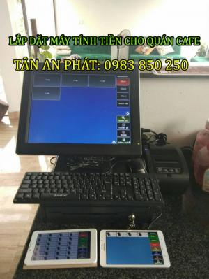 Lắp đặt máy tính tiền cho quán cafe tại Thái Bình- Hưng yên- Nam ĐỊnh