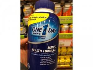 Viên uống One A Day Men's Multivitamin Health Formula 300 viên dành cho nam dưới 50