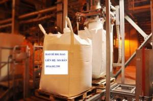 bao big bag ( jumbo) đựng 1 tấn bột siêu mịn