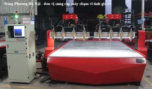 Máy CNC đục gỗ 8 đầu