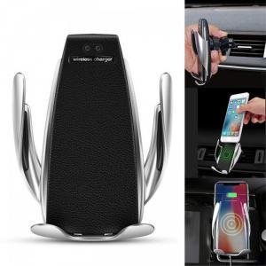 Giá đỡ điện thoại tự động kiêm sạc dự phòng trên xe hơi