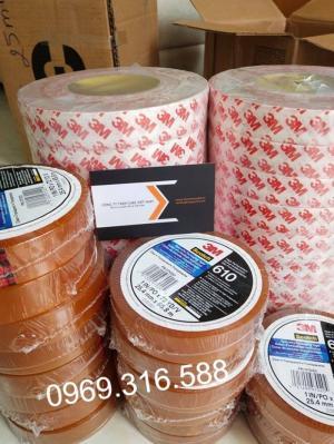 Băng dính dùng để test độ bám dính và chất lượng của mực in, mực sơn công nghiệp - mã 3M 610
