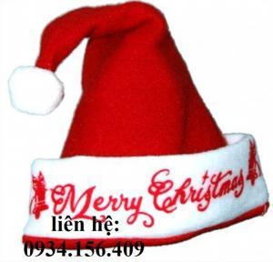 Xưởng may nón Noel giá rẻ dịp Giáng sinh