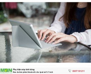 Bao da bàn phím bluetooth cho ipad air 9.7 inch