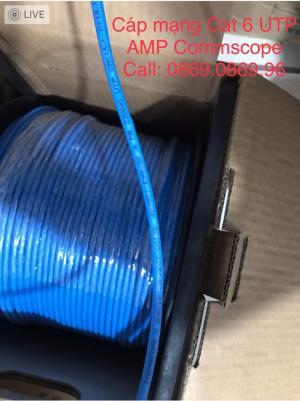 Cáp mạng Cat6 UTP AMP Commscoe  Mã 1427254-6