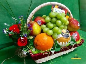 Giỏ trái cây đẹp HCM - FSNK61