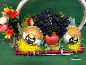 Giỏ trái cây đẹp TPHCM - FSNK60