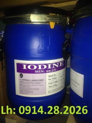 Bán-Iot-99.5%, bán-Iodine, I2