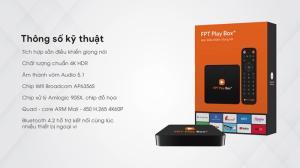 Thiết Bị Truyền Hình Internet , Giải Trí Fpt Play Box+ 2019.
