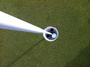 Bộ cờ lỗ golf bằng nhựa