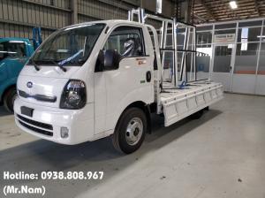 Xe tải Kia K250 - Thùng lửng giá chở kính tải...