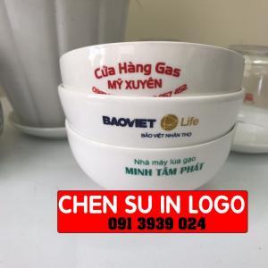 Cung cấp chén sứ trắng quảng cáo, chén sứ trắng in logo công ty theo yêu cầu