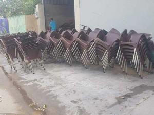 Thanh lý ghế nhựa giá rẻ