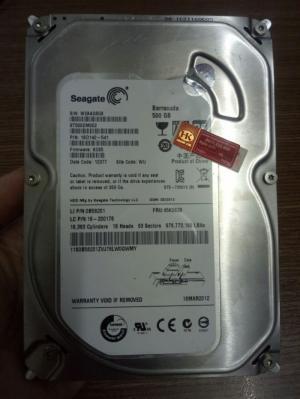 Ổ cứng PC Seagate 500GB SATA | Ổ cứng zin tháo máy