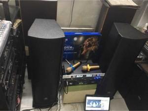Bộ karaoke gia đình giá rẻ cho Giỗ Tổ cty Phát Thịnh .