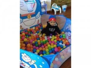 Lều Hươu bóng rổ ( Lều + 100 bóng ) cho bé thỏa sức vui chơi, an toàn thân thiện