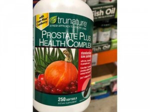 Viên uống hỗ trợ tuyến tiền liệt từ Trunature Prostate Health Complex 250 viên nang mềm