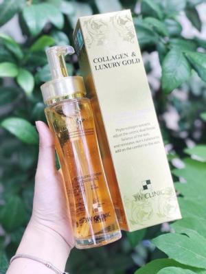 Tinh Chất Collagen & Luxury Gold 3W Hàn Quốc