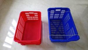 Chuyên bán rổ nhựa đựng hàng, rổ nhựa hình chữ nhật, sọt nhựa đựng đồ