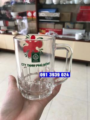 Địa chỉ cung cấp ly thủy tinh in logo, ly thủy tinh giá rẻ