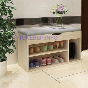 Tủ giày MDF chống ẩm thông minh cho mọi nhà
