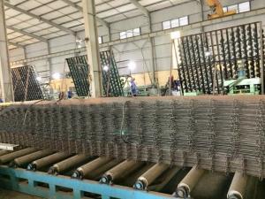Sản xuất lưới hàn chập D8 a 150x150, 200x200 tại Hà Nội
