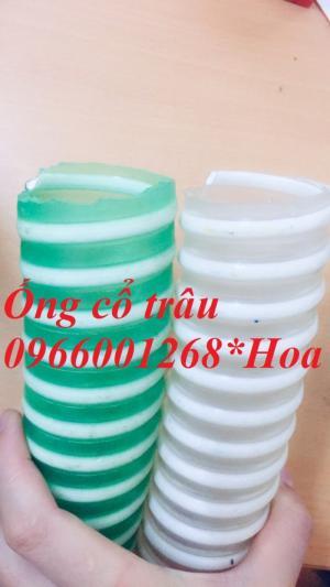 Ống gân nhựa trắng - ống gân nhựa xanh -ống cổ trâu D40,D50,D60,D75,D100,D125