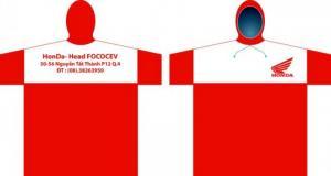 Áo Mưa in logo thương hiệu theo yêu cầu
