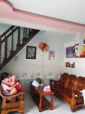 Bán nhà sổ hồng riêng đường TTH06 phường Tân Thới Hiệp, Quận 12 đúc một trệt, một lầu
